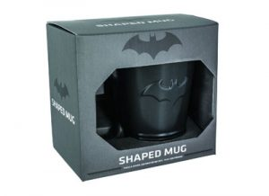 Taza de color negro de Batman