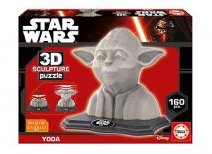 Puzle 3D de Yoda