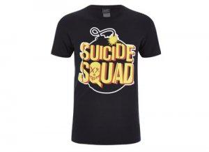 Camiseta friki Suicide Squad
