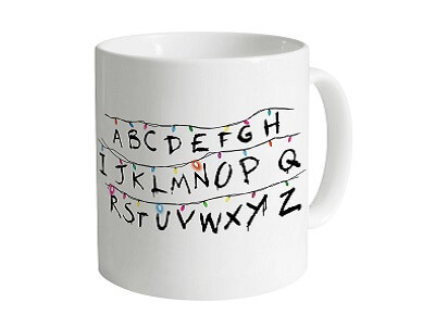Taza Strangers Things luces