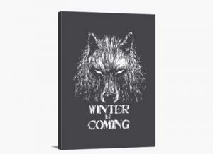 "Cuadro ""Winter Is Coming"""