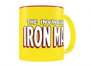 "Taza Iron Man ""The Invincible"" de Marvel"