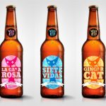 "Cervezas artesanas ""Siete Vidas"", ""Ginger Cat"" y ""La Gata Rosa"""