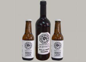 Pack 2 cervezas + Botella de vino Lost