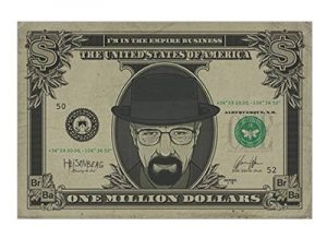 Póster Heisenberg de Breaking Bad