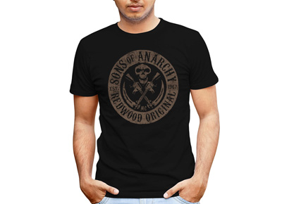 Camiseta Sons of Anarchy Est 1967