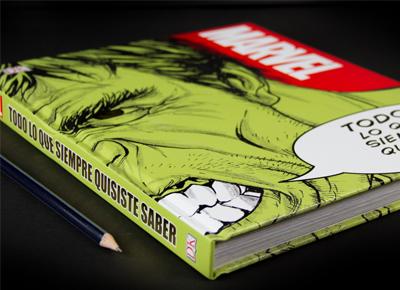 """Libro friki """"Marvel: todo lo que necesitas saber"""""""