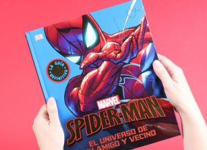Libro SpiderMan Marvel