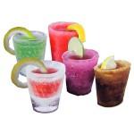 Vasos de chupitos helados