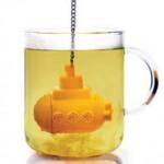 Submarino amarillo para el té