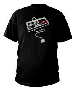 Camiseta con el Mando de la Nintendo Nes