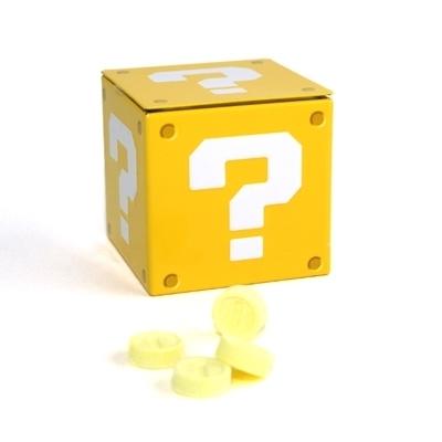 Caja de caramelos de Super Mario