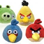 Peluches de Angry Birds