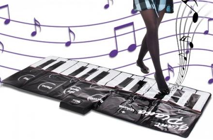 Piano gigante, haz música con tus pies