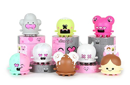 Figuras coleccionables Buff monster