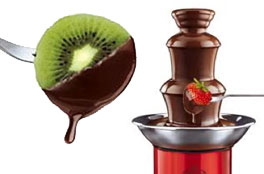 Regalos originales de San Valentin: Mini fuente de chocolate