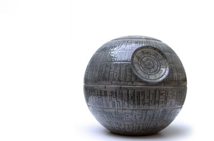 Tarro de galletas de la Estrella de la Muerte de Star Wars