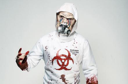 Disfraces frikis de Carnaval: Disfraz de Zombie biohazard