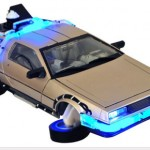 Replica delorean Regreso al futuro