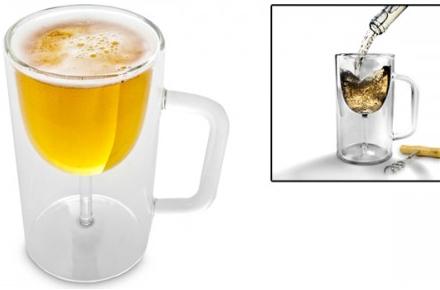 Jarra-Copa, bebe vino o cerveza en el mismo vaso