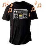 Camiseta con Speaker incorporado