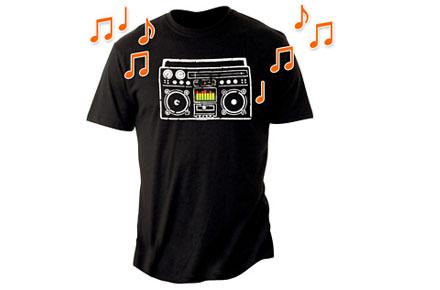 Camiseta friki Boombox Speaker T-Shirt