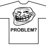 Camiseta de Trollface