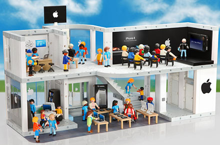 Applestore de Playmobil