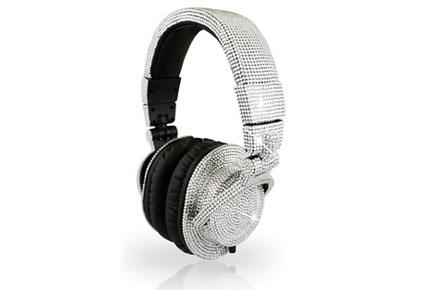 Auriculares de Swarovski para los DJ más fashion