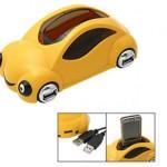 HUB USB con forma de coche