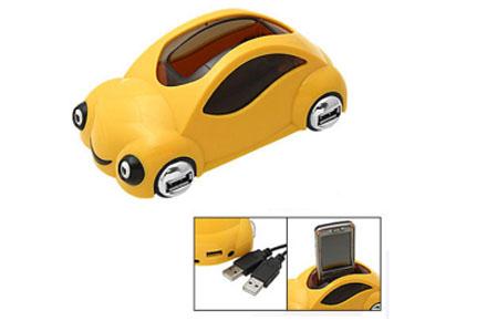 Multiplicador USB con forma de coche