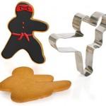 Molde de galletas ninja