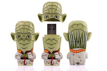Pendrives frikis de Star Wars, los Mimobots
