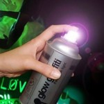Spray de graffiti luminoso Glow Graffiti