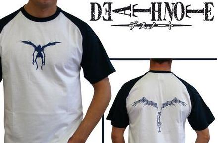 Camisetas de Death Note