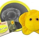 Peluches de microbios Herpes