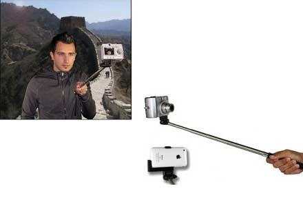 Monopod, fotografíate con este brazo extensible para cámaras y smartphones