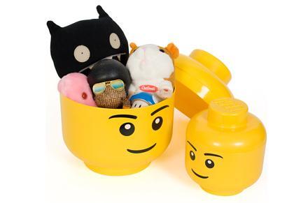 Almacén Cabeza Lego, ordena tus cosas con estilo