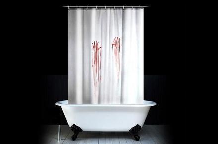 Cortina de baño Psicosis