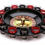 Ruleta de casino para Chupitos