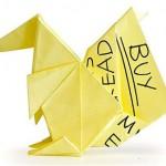 Notas Adhesivas de Origami