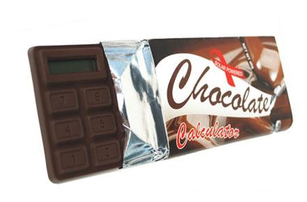 Calculadora de chocolate