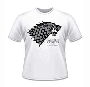 Camiseta Stark Juego de Tronos