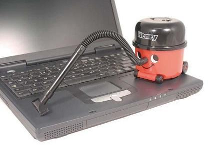 Henry la mini aspiradora, cuida tu ordenador