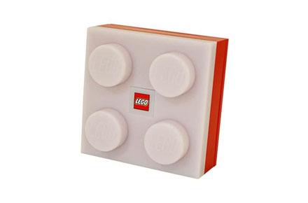 Lámpara friki de ladrillo Lego