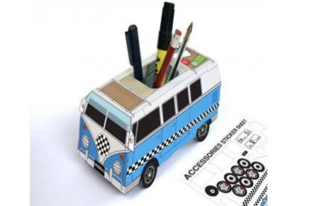 Lapicero Caravana de papel