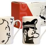 Tazas Tintin y Haddock