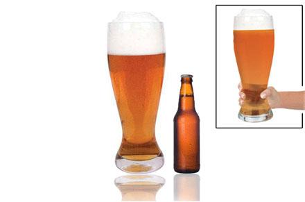 Vaso de cerveza gigante