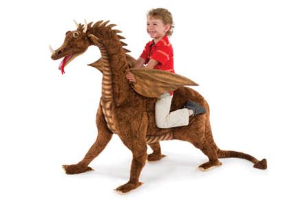 Dragón cabalgable
