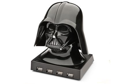 HUB USB Star Wars con la forma de Darth Vader